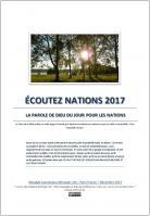 Ecoutez nations 2017 la parole de dieu du jour pour les nations miniacouv1