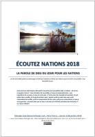 Ecoutez nations 2018 la parole de dieu du jour pour les nations miniacouv1