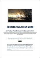 Ecoutez nations 2020 la parole d elohim du jour pour les nations miniacouv1